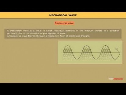 Class 11 Physics - Types Of Mechanical Wave Video by MBD Publishers