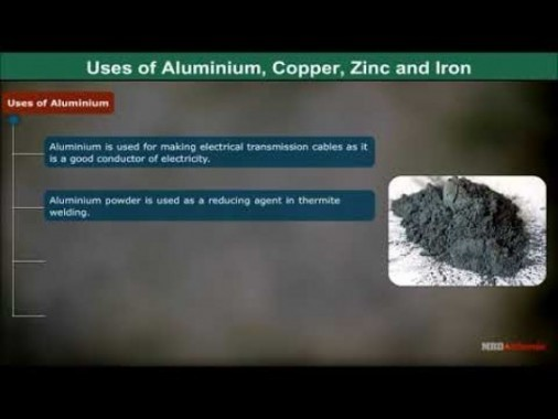 Class 12 Chemistry - Uses Of Some Important Metals Video by MBD Publishers