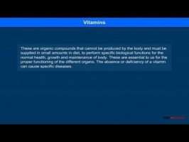 Class 12 Chemistry - Vitamins Video by MBD Publishers