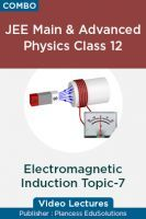 JEE Main & Advanced Physics Class 12 - Electromagnetic Induction Topic-7 Video Lectures By Plancess EduSolutions