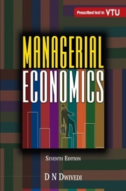 MANAGERIAL ECONOMICS - 7TH EDN