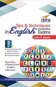 Tips And Techniques In English with 3 For Competitive Exams
